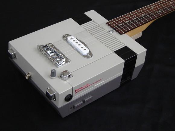 Guitarra NES para Rockeiros geeks! (com vídeo)