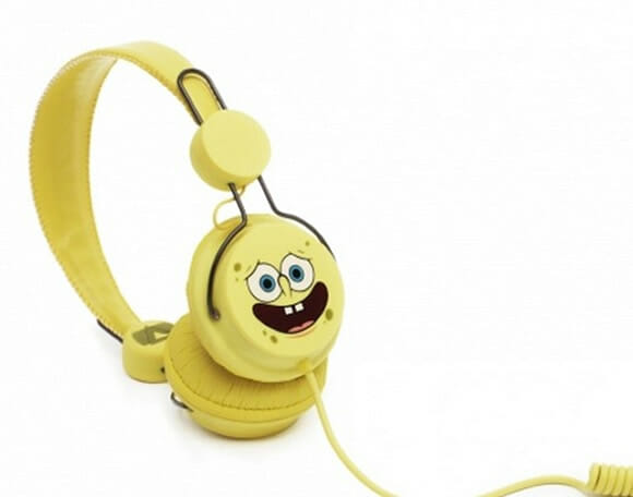 Headphone do Bob Esponja. Bem legal!