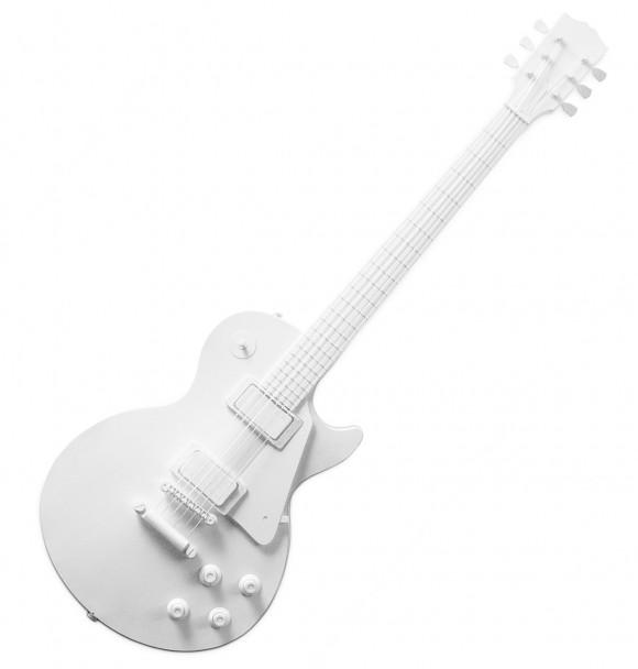 Construa sua própria guitarra de papel!