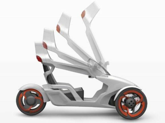 P.I.T.E – Flexibilidade e design sobre 3 rodas.