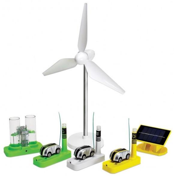 Carrinhos de controle remoto que funcionam com energia sustentável!