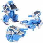 Robô Transformer movido a energia solar. (com vídeo)