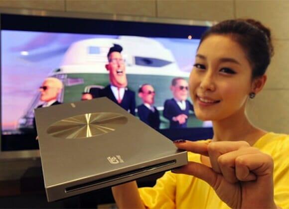 Samsung irá lançar na CES 2011 o Blu-ray player mais fino do mundo.