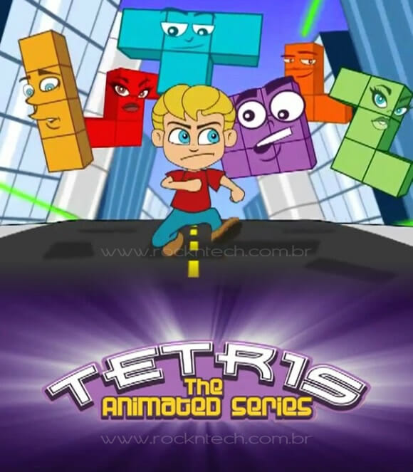 VIDEOFUN - Com vocês: A série animada Tetris!