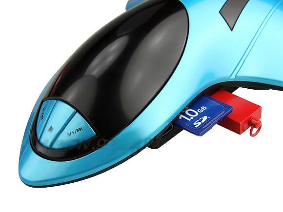 Aircraft USB Speaker- Um speaker com função MP3 em forma de aeronave.