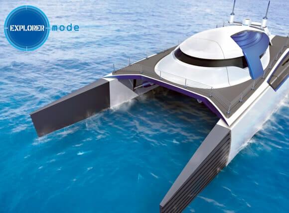 Iate ou Submarino? O Submerge é perfeito para milionários indecisos!