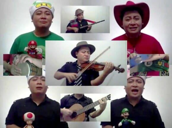 Músicas do Super Mario Galaxy tocadas por uma orquestra de um homem só. (com vídeo)