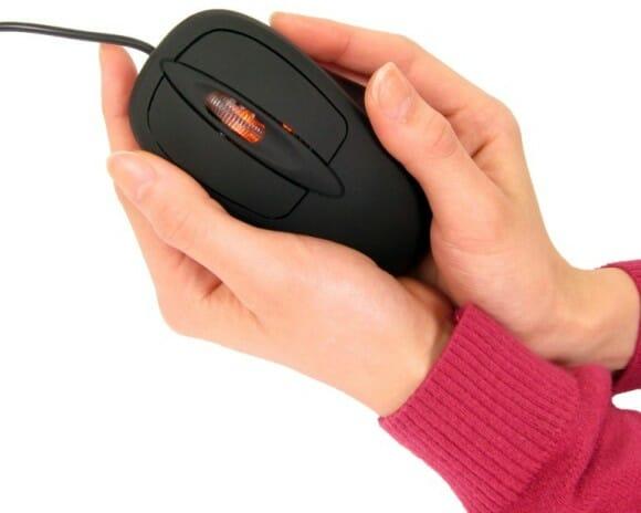 Warming Mouse – Um mouse com sistema de aquecimento.