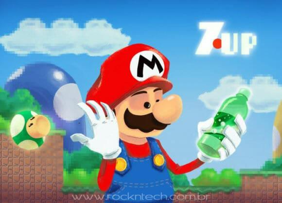 FOTOFUN - Super Mario - O que poderia ser melhor do que ganhar 1-UP?
