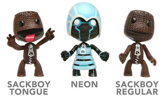 Action Figures do game Little Big Planet.