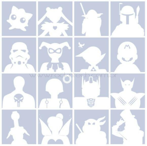 Avatares geeks para Facebook