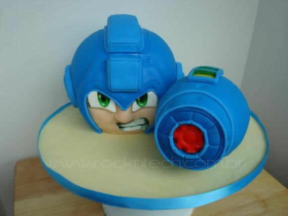 Bolo do Mega Man.