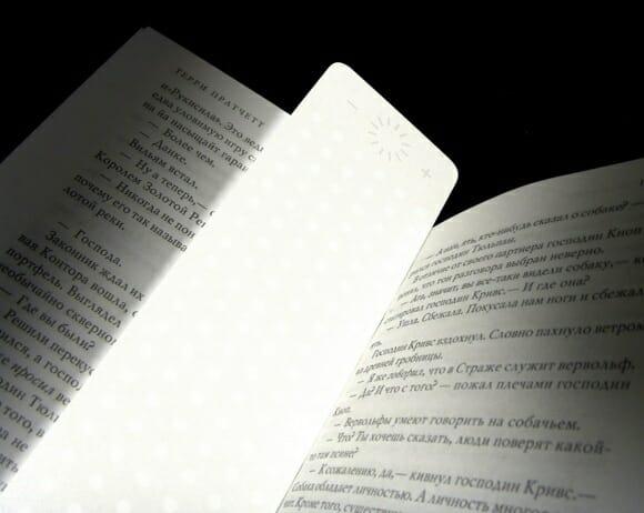 Booklight - Para facilitar a leitura dos seus livros durante a noite.