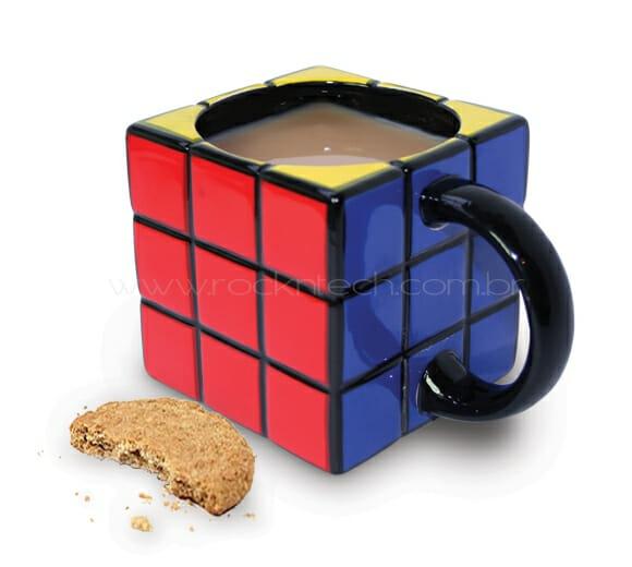 Caneca Cubo Mágico. Cool!