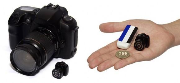 Empresa japonesa lança micro câmera DSLR de 2,5cm.