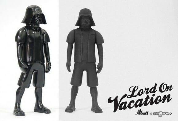 Figure do Darth Vader de Férias.