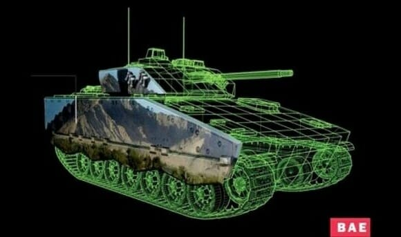 Nova tecnologia poderá camuflar tanques de guerra em campos de batalha.