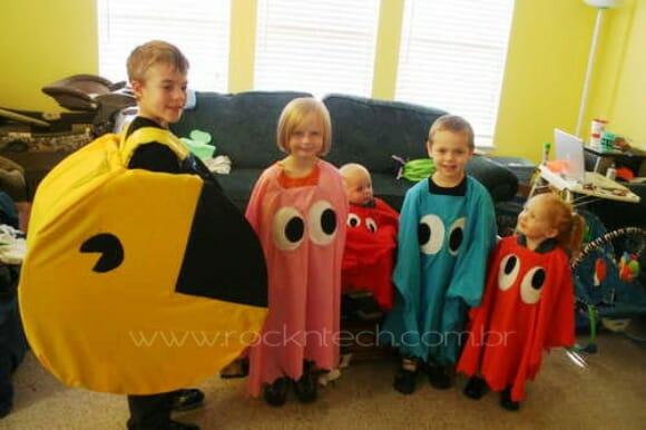 FOTOFUN – Família Pac-man!
