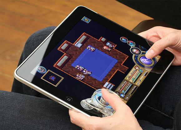 Fling - Um joystick com ventosas para o seu iPad. (com vídeo)