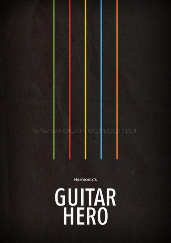 FOTOFUN - Guitar Hero Minimalista.