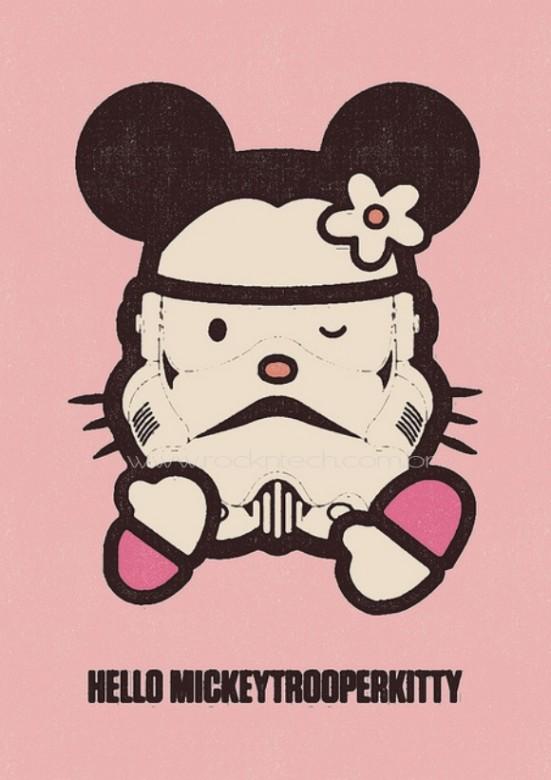FOTOFUN - Hello Mickeytrooperkitty.