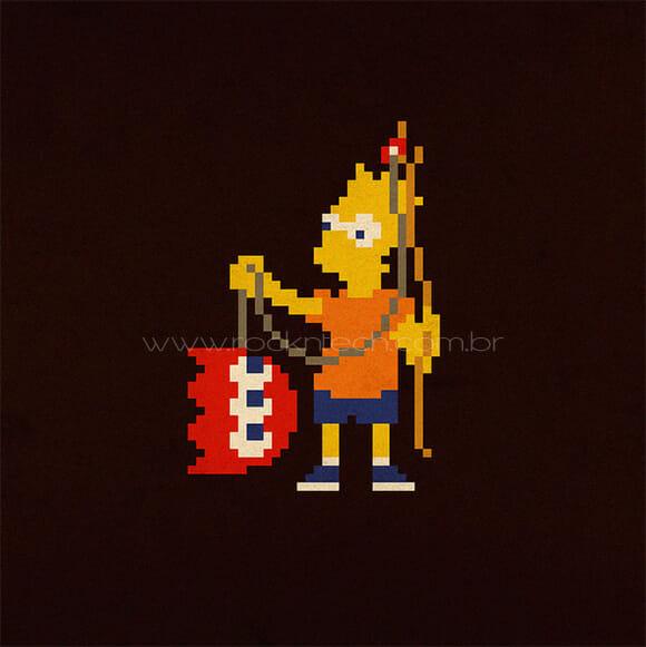 FOTOFUN – Pac-Man e Simpsons!
