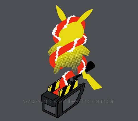 FOTOFUN – Pikachu cai na armadilha errada.