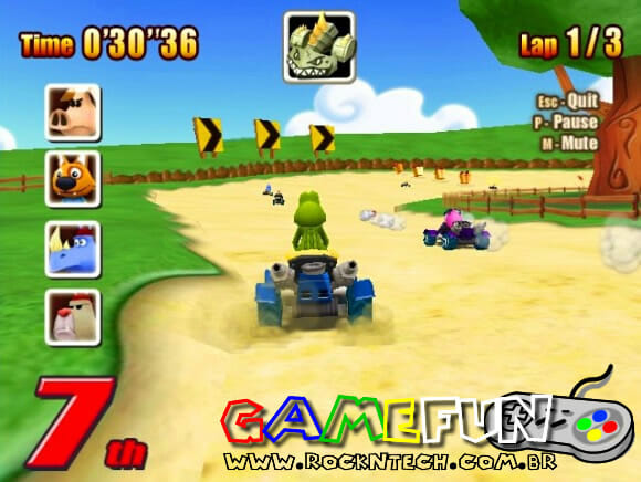 GAMEFUN – Go Kart Go! Turbo!