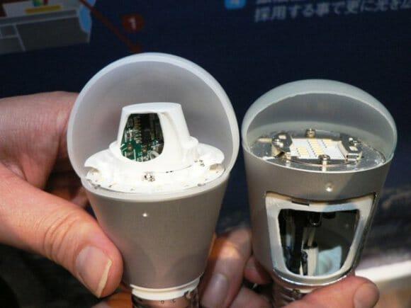 Nova Panasonic Everled poderá ser a lâmpada do futuro.