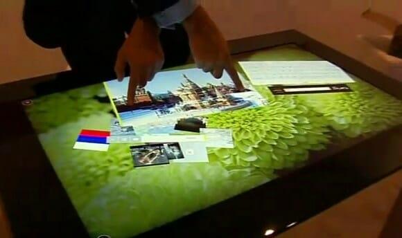 Surface 2 da Microsoft é apresentado na CES 2011. (com vídeo)