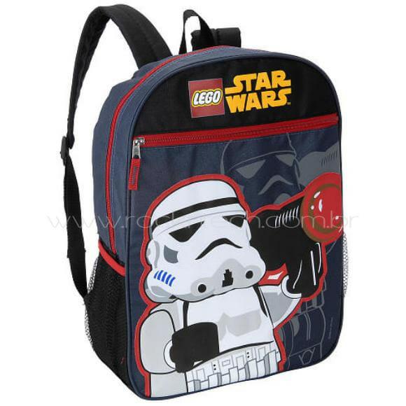 Mochila LEGO Star Wars para a volta às aulas.