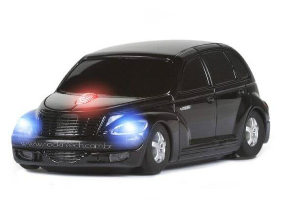 Mouse PT Cruiser para apaixonados por carros.