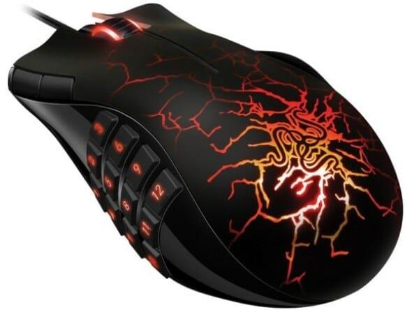 Razer lança mouse Naga Molten para gamers em edição especial.