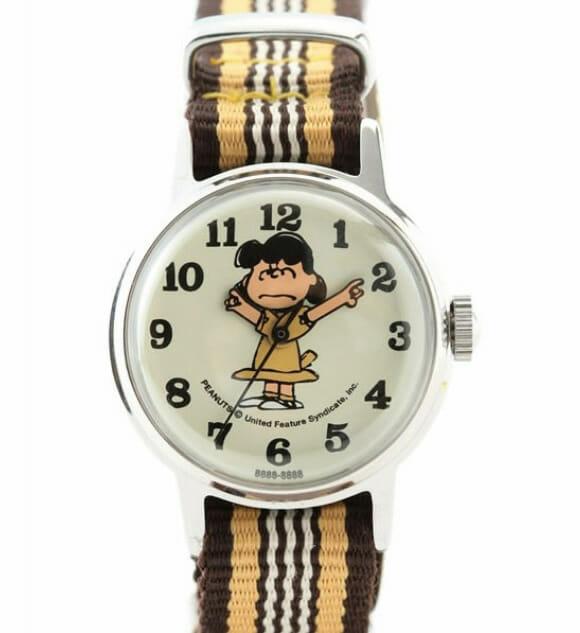 Snoopy Watch Lucy Angry – Um relógio pra quem é da época do Snoopy.