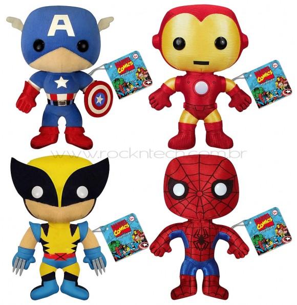Super Heróis da Marvel de pelúcia!