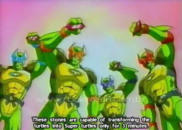 VIDEOFUN – No Japão as Tartarugas Ninjas se parecem com os Power Rangers