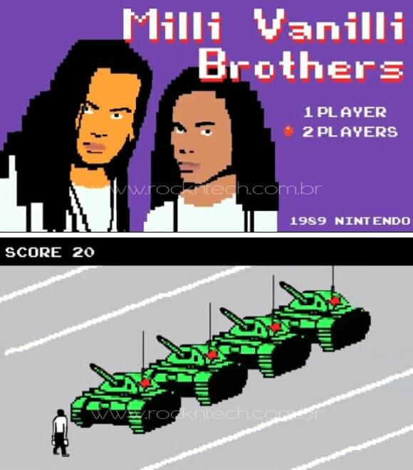 VIDEOFUN - Fatos marcantes da década de 80 retratados em um game 8-bits.