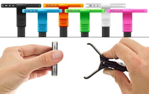 Vyne - Um suporte conceito para iPhones e iPods Touch em forma de serpente.
