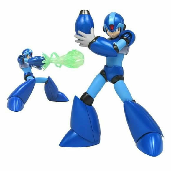 Action Figure do Mega Man X.
