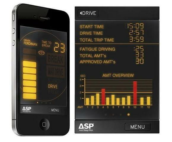 App para iPhone mantém o motorista acordado em suas viagens.
