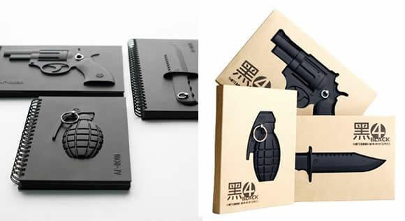Armed Notebooks – Blocos de anotações para fãs e colecionadores de armas.