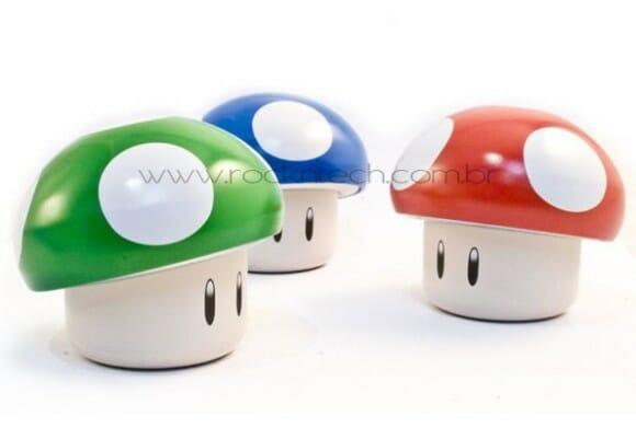 Balas dos Cogumelos do Super Mario.