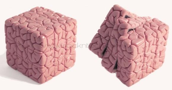 Um Cubo Mágico que imita um cérebro!