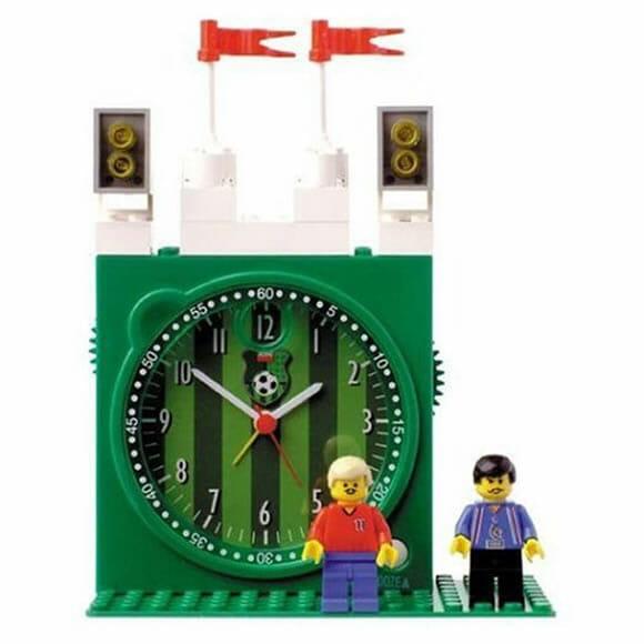 Soccer Stadium Clock – Um despertador de LEGO para apaixonados por futebol.