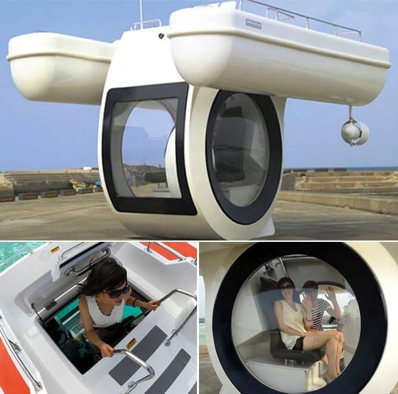 Agora você pode ter seu próprio Submarino particular!