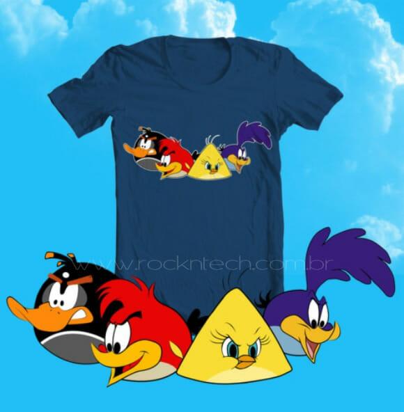 FOTOFUN - Angry Cartoon Birds.
