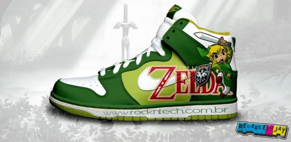 FOTOFUN - Nike The Legend of Zelda.