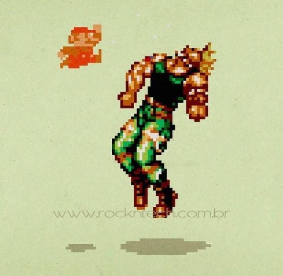 FOTOFUN - Super Mario Shoryuken!