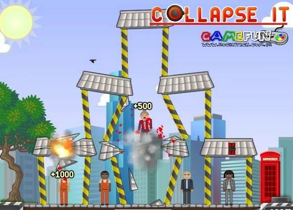 GAMEFUN – Collapse It.