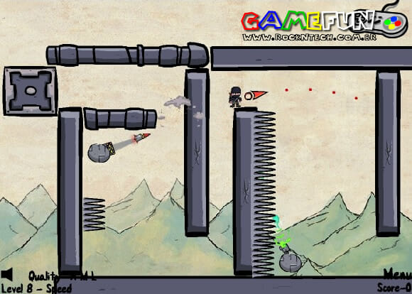 GAMEFUN – The Ninja Game.